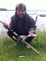 Leif Jonsson med fin aborre 2012