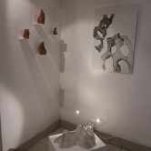 Haptic + Virtual Sculpting