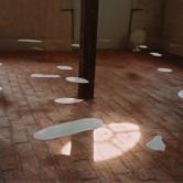Porcelain Puddles, Skulpturens Hus, Stockholm 2001 Photo; Jesper Hammarström