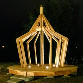Ljuspaviljongen,Snickargårdens Förskola 2018