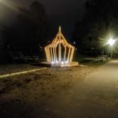 Ljuspaviljongen, Snickargårdens Förskola 2018