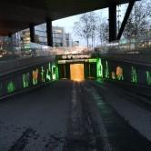 Tecken, Centralgaraget Uppsala 2020