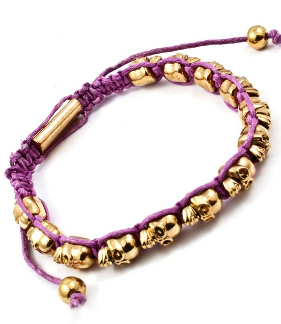 Döskallearmband från luxurydetails.se snart i butik