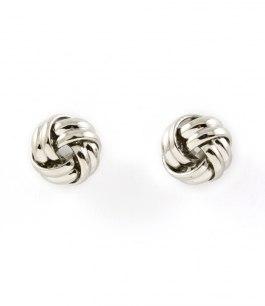 Örhängen Silver Knots