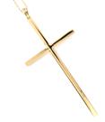 Halsband med kors i guld