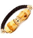Bamboo Armband Brun/Guld