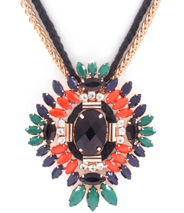 Luxury Navette Necklace / Gold