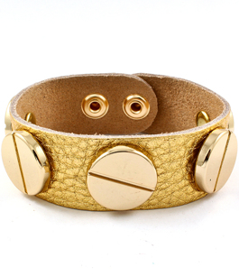 Screw Bracelet - Gold/Gold