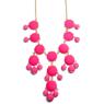 Rose bubble necklace