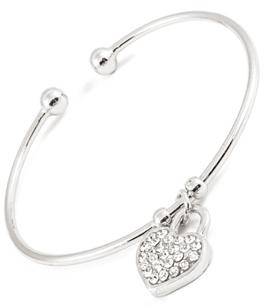 Stilrent armband i silverplätering
