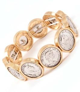 Queen Elizabeth - stilrent armband