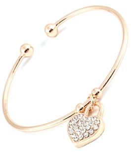 Stilrent armband i guldplätering