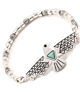 Armband - Egyptian Eagle / Silver