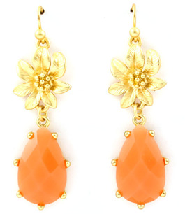 Örhängen Sweet Roses / Corall