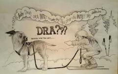 Tecknare Reneé Persson Livh Dante 3,5 år