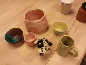 Barn klippkort keramik