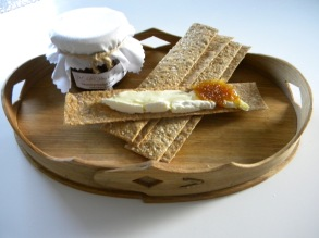 En fikonmarmelad med vanilj & citron, gudomligt god med en bit ost.