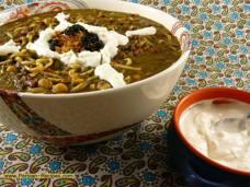 Ash Reshteh - en persisk soppa