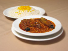 Gheimeh bademjan - en aubergine gryta