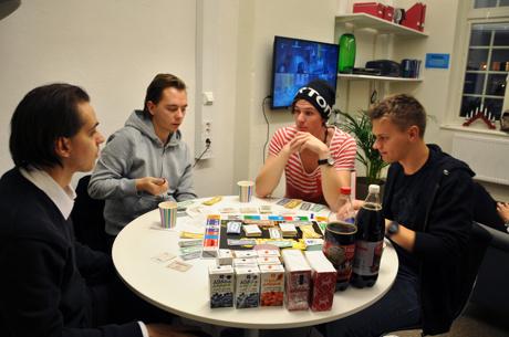 Spelkväll med Esekon 2013