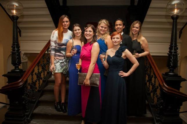 S.E.R.O. styrelse 2014. (Sofie Gustavsson saknas i bild)