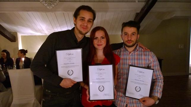 Vi tackar Styrelsen 2014 för deras grymma jobb. (Vi saknar Serkan och Emma som får sina diplom senare!)