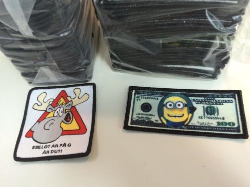 """Bild: Två nya märken """"Eselot på G"""" och """"One Minion Dollars"""""""