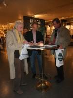 Bengt Lagerkvist, Johan Erséus och Anders Sandström vid invigningen (foto Yvonne Wetterling).