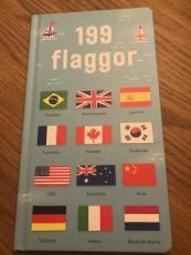 F, har pratat mycket om flaggor och byggt flaggor, en ny bok om flaggor beställdes hem