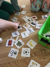 Memory- spel, para ihop olika bilder