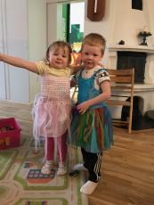 Vi är prinssessor superhjältar :)