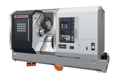 Välutrustad CNC-svarvavdelning