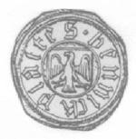 Sigill för Heinrich von Platen 1446