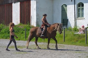 Åsa och hennes vackra Najagg