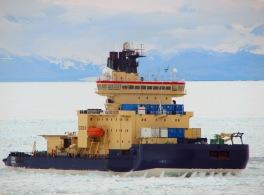 Linde Metallteknik AB - Isbrytaren Oden. Inbyggnad av winschar med styrning och övrig utrustning i containers för användning på isbrytaren Oden under expedition till Antarktis 2010/2011.  Containrarna ställs på däck och används bland annat för att ta prover på olika djup i havet utanför Antarktis.