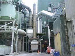 Linde Metallteknik AB - Tillverkning och montage av stålkonstruktioner, gångplan, trappor, räcken m.m. samt rökgasrör och recirkulationsrör för ny rökgasvärme-återvinningsanläggning till panna 4 vid Stora Enso pappersbruk i Hyltebruk.