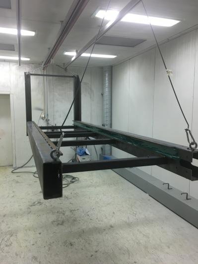Linde Metallteknik - Våt- och pulverlackering. Vi klarar både små och stora serier.