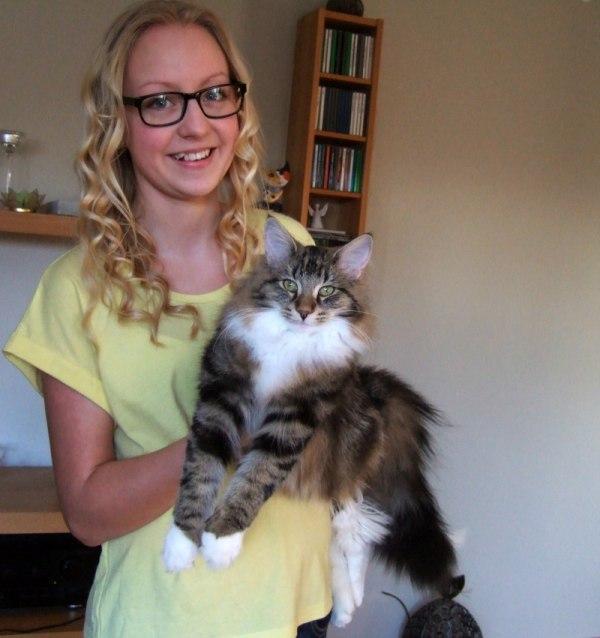 S*Fridalas Velvet with her sweet owner; Pernilla :-)