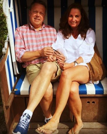 Jag och Claes, sommaren 2016