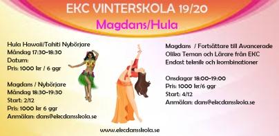 Vinterskola med Magdans och Huladans