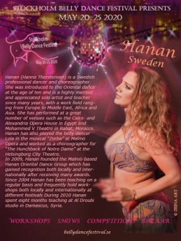Hanan from Sweden