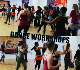 Dance Workshops in oriental dances & Hula Dance