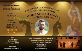 Intensivkurser med Mohanned Hawaz