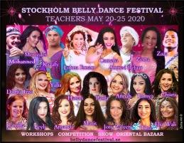 Stockholms årliga magdansfestival går av stapeln den 20-25 Maj 2020
