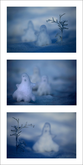 Snö spöken
