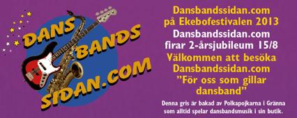 Godis till dansbanden kommer att delas ut under torsdag samt fredag av Christian på Dansbandssidan.com