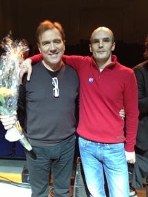 Jag och Christer Sjögren!