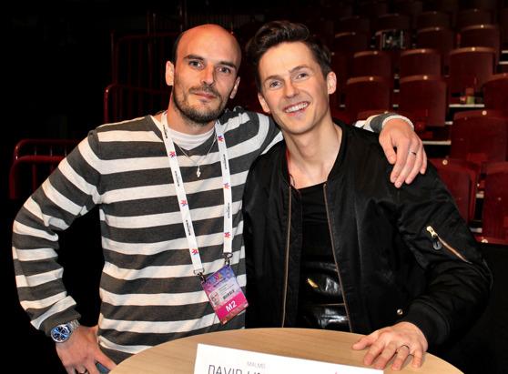 Christian på Dansbandssidan.com samt David Lindgren