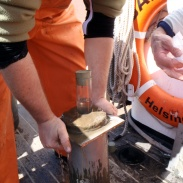 10 Hela sedimentet trycks upp