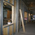 24 maj. Korridor vid labb, IVA, stall etc